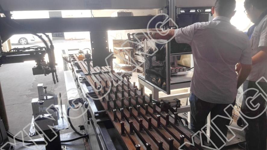 工字钢非标焊接专机