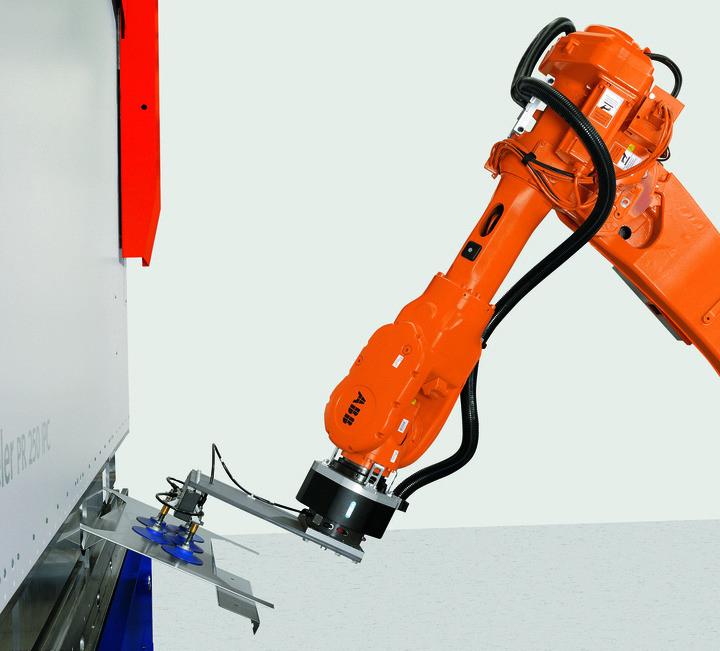 机器人折弯